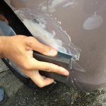 車のこすり傷を修理する方法!自分で直すやり方や方法って?