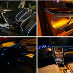 車内はLEDのライトでカスタム!おすすめな取り付け場所やグッズは?